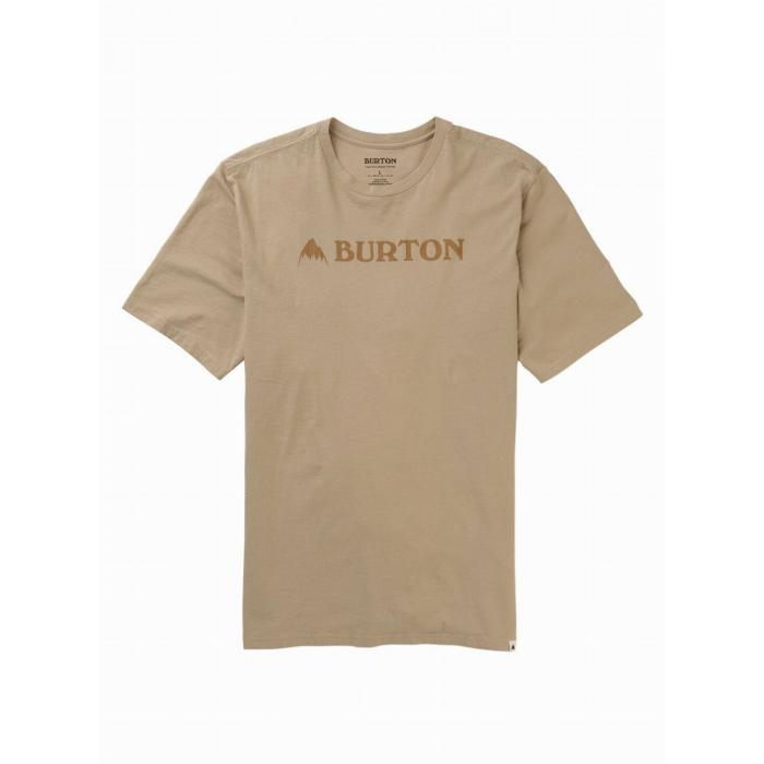Tričko Burton HORIZONTAL MTN SS PLAZA TAUPE