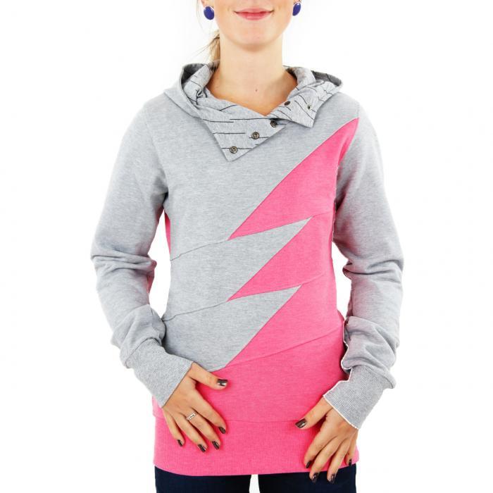 Mikina Funstorm Blaine pink
