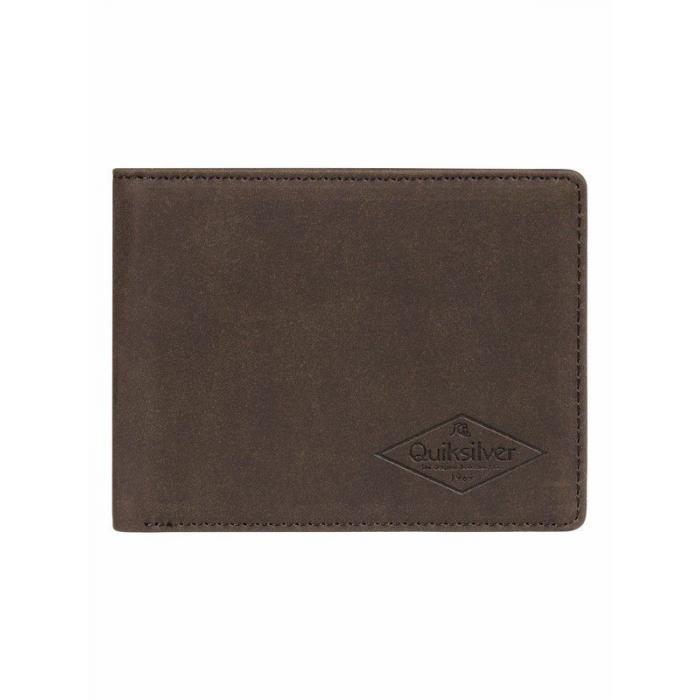 Peněženka Quiksilver SLIM VINTAGE III CHOCOLATE BROWN