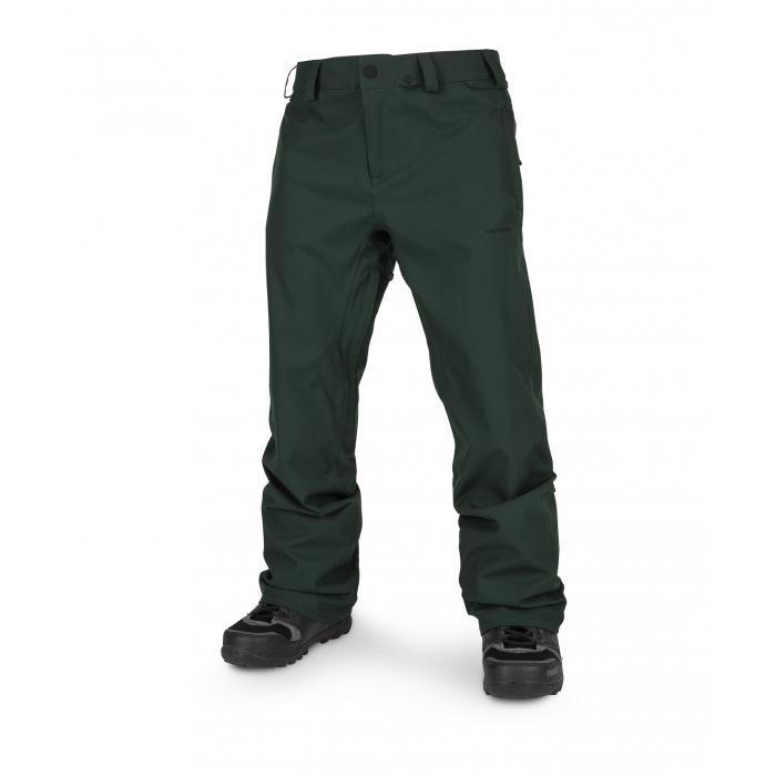 Snowboardové kalhoty Volcom Freakin Snow Chino Dark Green