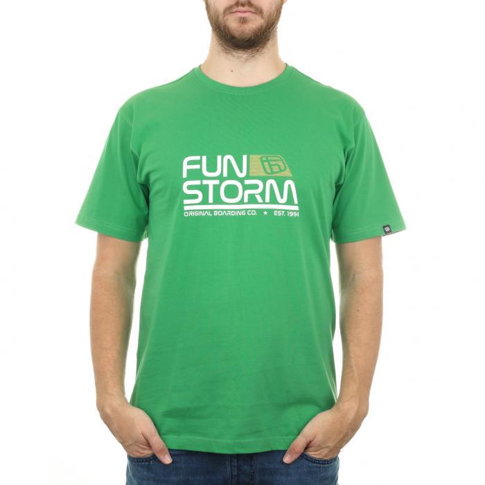 Tričko Funstorm Sepse green