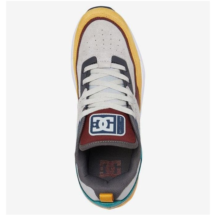 Boty DC E.TRIBEKA SE GREY/BLACK/YELLOW