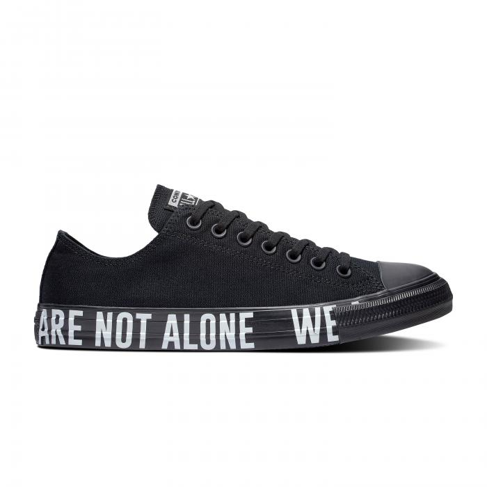 Boty Converse CHUCK TAYLOR ALL STAR WE ARE NOT ALONE BLACK/WHITE/BLACK