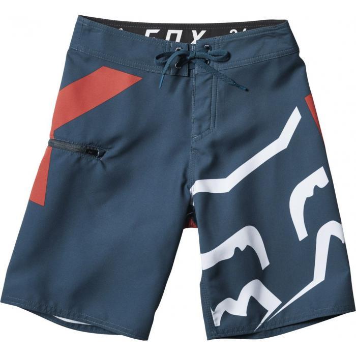 Koupací šortky Fox Youth Stock Boardshort Navy