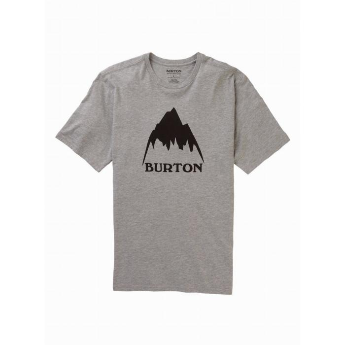 Tričko Burton CLASSIC MTN HGH SS GRAY HEATHER