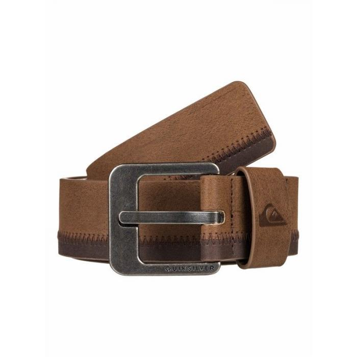 Pásek Quiksilver BINGE 3 CHOCOLATE BROWN